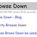 Browse down blog post image