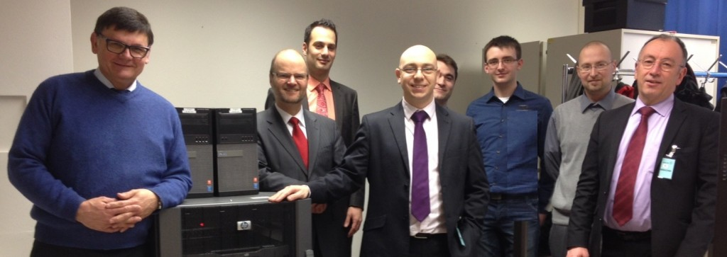 EDA Demonstration event - group shot - Deploying Information Exchange Gateway solutions
