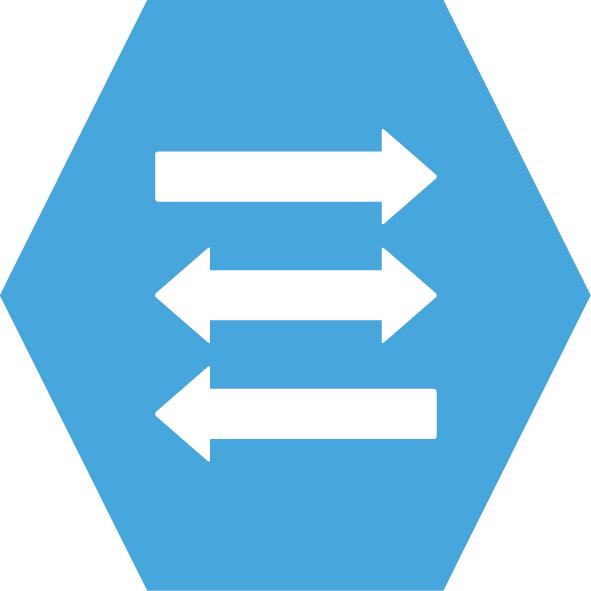 Flow Control - Secure Information Exchange icon