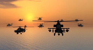 Apache helicopters - communicating between nations