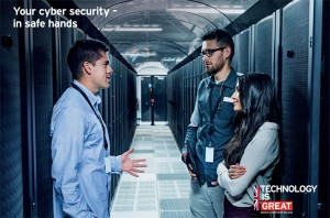 UKTI cyber security brochure - cover image