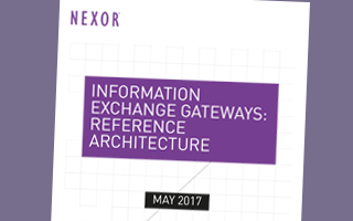 Information Exchange Gateways: Reference Architecture White Paper