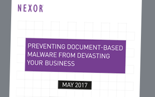 Preventing Document Based Malware from Devastating Your Business White Paper