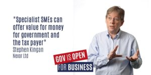SME panel 'Gov open for Business' - Steve kingan