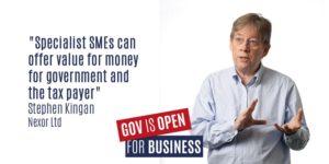 SME panel - Steve kingan