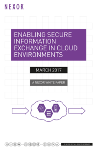Enabling Secure Information Exchange in Cloud environments - white paper - cloud launch