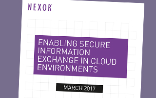 Enabling Secure Information Exchange in Cloud Environments White Paper