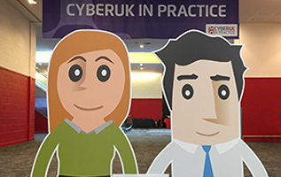 Alice and Bob at CYBERUK 2017