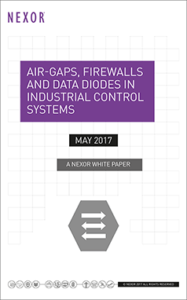 Air-Gaps, Firewalls and Data Diodes in Industrial Control Systems