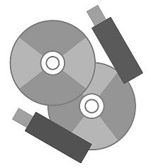 CD and USB Greyscale