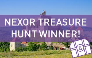 Nexor Treasure Hunt Competition Winner!